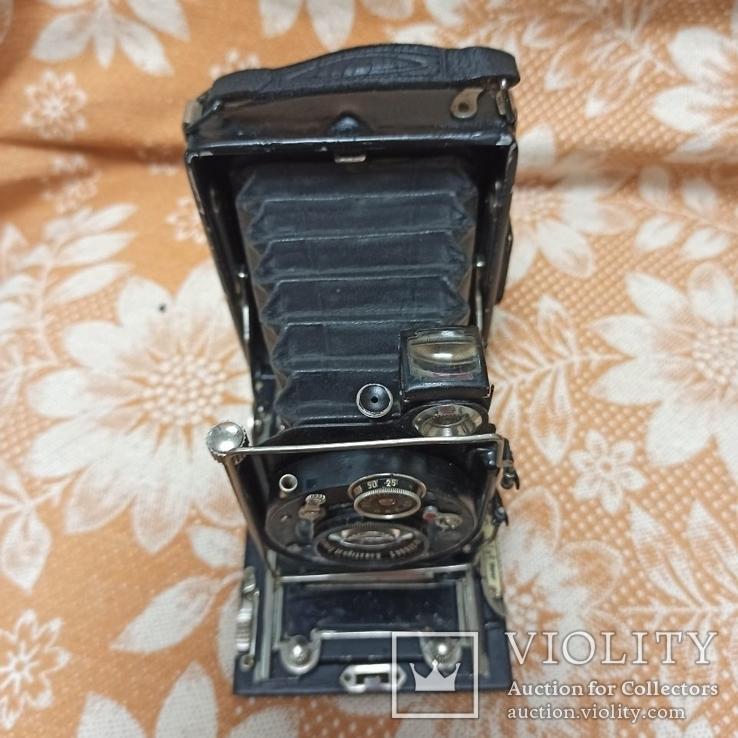 Немецкая камера Объектив Meyer-Görlitz Trioplan 1:4.5 F=10cm, фото №5