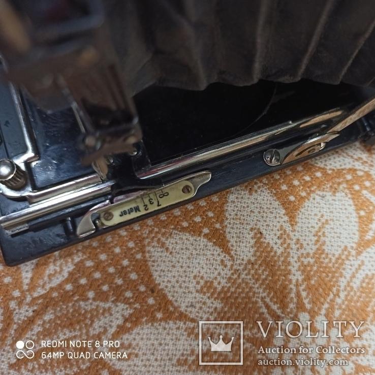 Немецкая камера Объектив Meyer-Görlitz Trioplan 1:4.5 F=10cm, фото №7