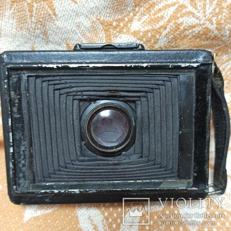 Немецкая камера Объектив Meyer-Görlitz Trioplan 1:4.5 F=10cm, фото №8