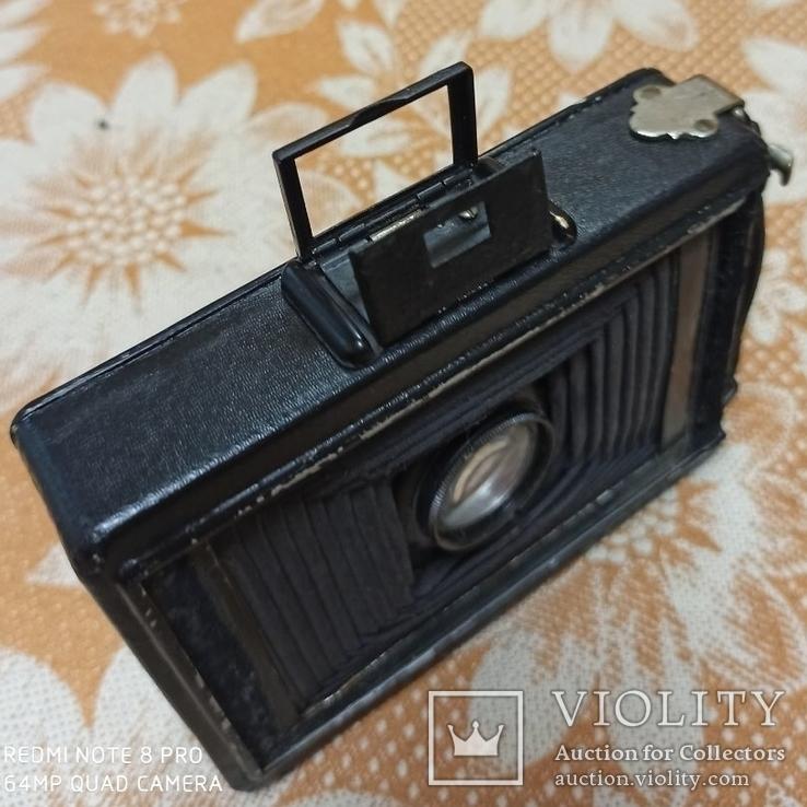 Немецкая камера Объектив Meyer-Görlitz Trioplan 1:4.5 F=10cm, фото №9