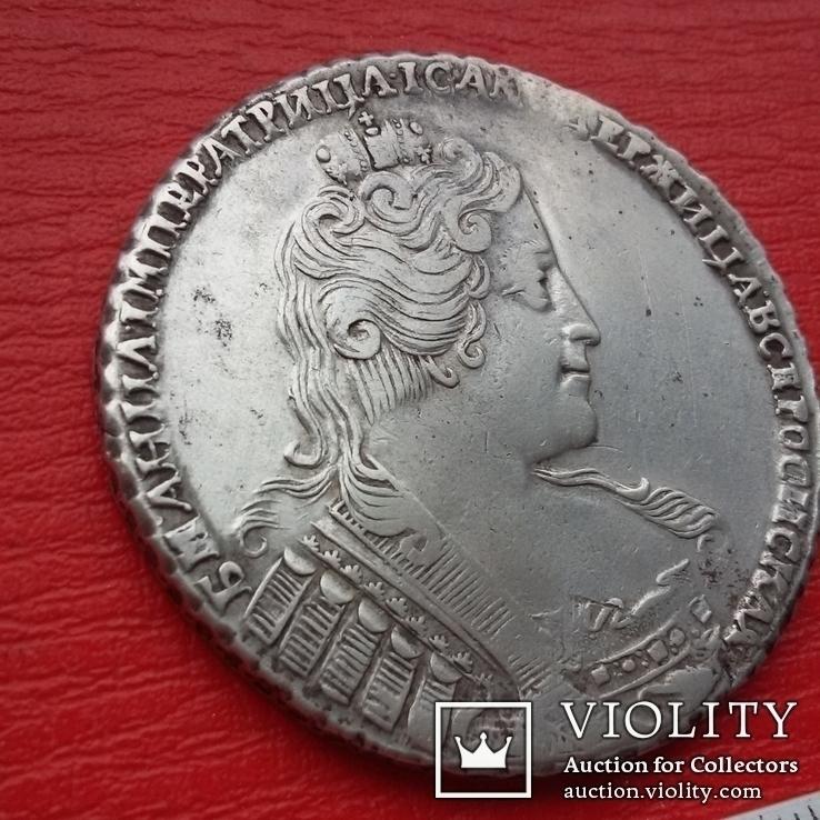 Рубль 1733, фото №5