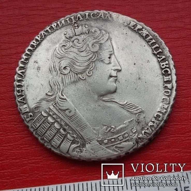 Рубль 1733, фото №6