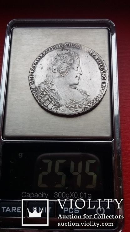 Рубль 1733, фото №12
