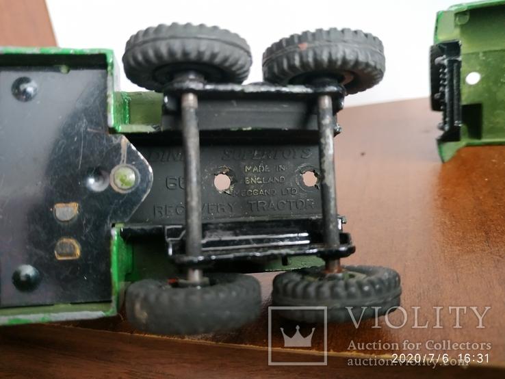 Кран эвакуатор dinky supertoys 60-х, фото №10
