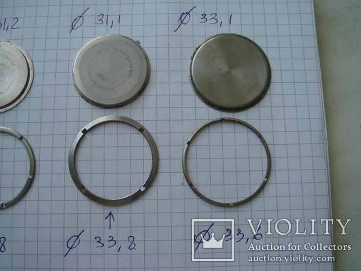 Крышка к часам 4 шт, с кольцом, фото №4
