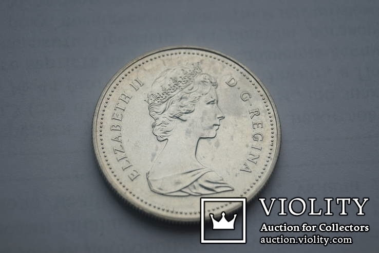 1 долар 1981 р. Канада., фото №2