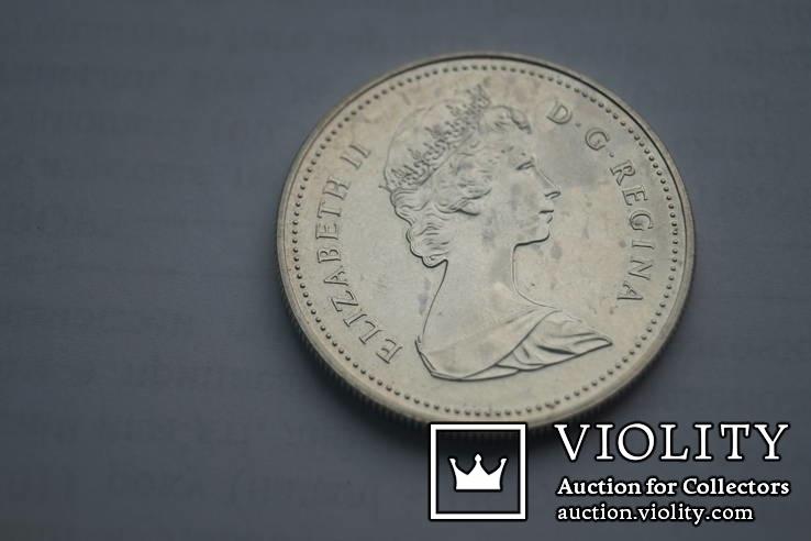 1 долар 1981 р. Канада., фото №3