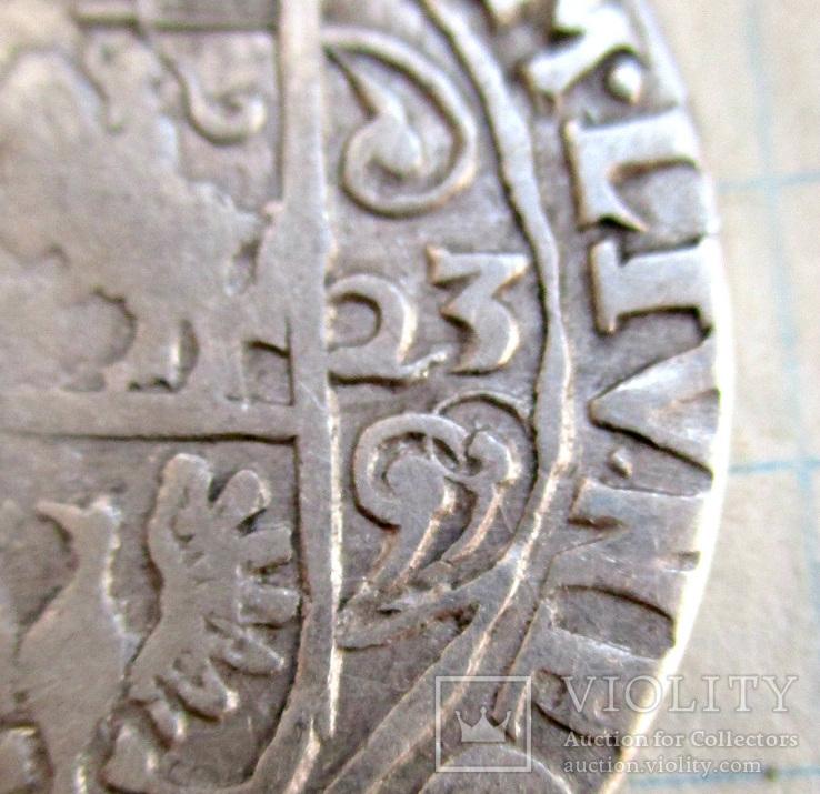 Орт 1623 года (двойной узор)