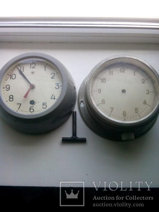 Двое Корабельных часов 1961г и 1986г