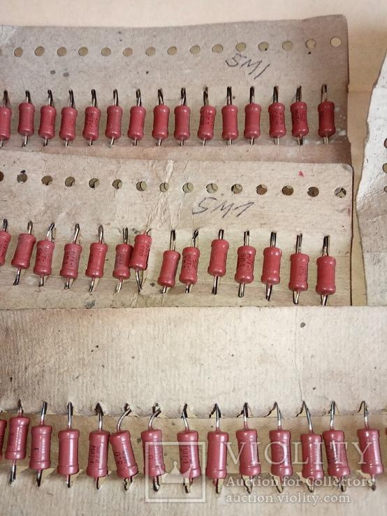 Резисторы  МЛТ-1  5м1  - 57 шт., фото №5