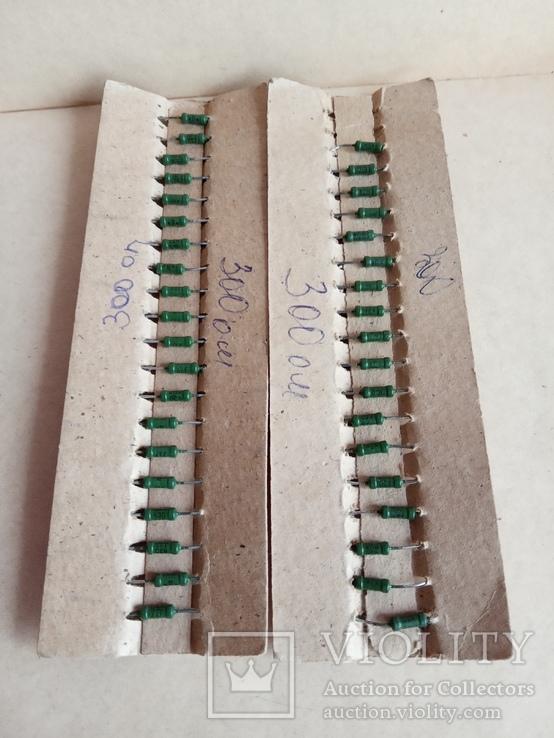 Резисторы  300 Ом, фото №3