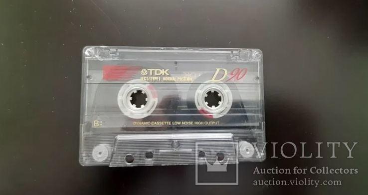 Касета TDK D 90 (Release year 1995), фото №5