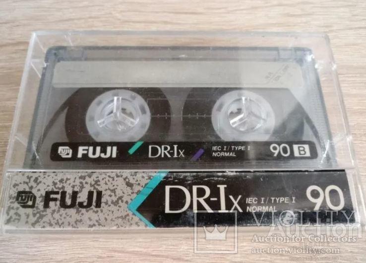 Касета Fuji DR-Ix 90 (Release year 1990-91), фото №2