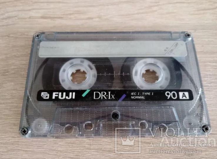 Касета Fuji DR-Ix 90 (Release year 1990-91), фото №3
