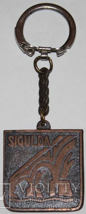 """74.Брелок """"Сигулда.Латвия"""" 1980 гг., фото №2"""