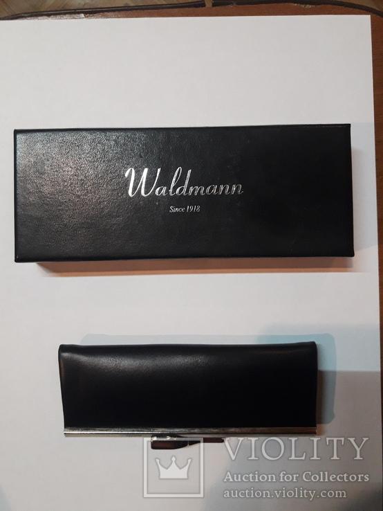 Ручка шариковая Waldmann с цепочкой, фото №2