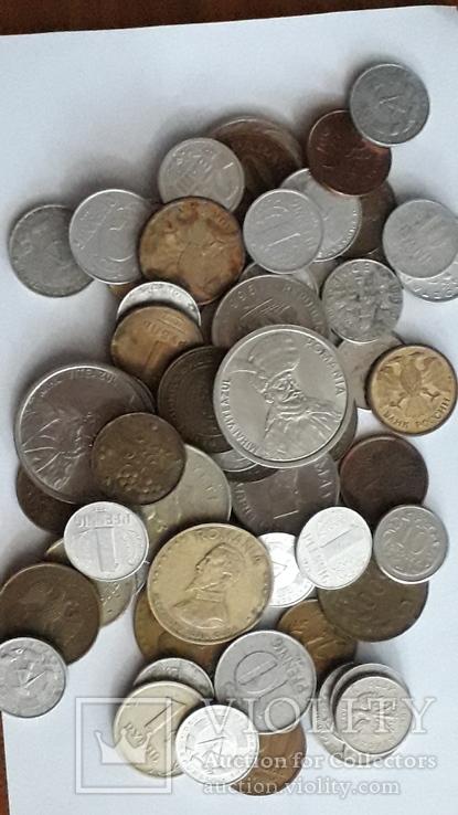Монети світу, 64 шт., фото №3