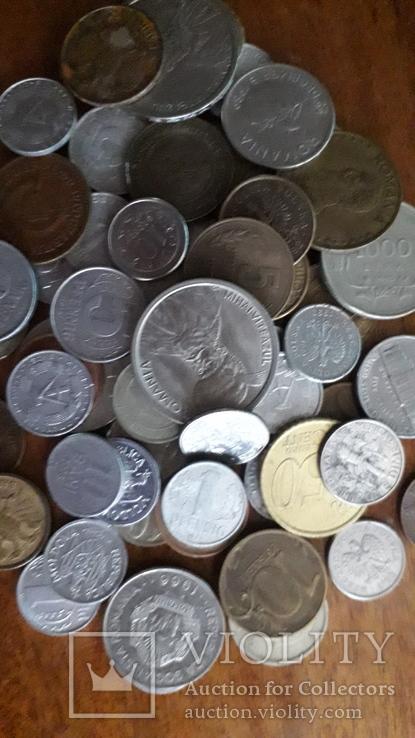 Монети світу, 64 шт., фото №5