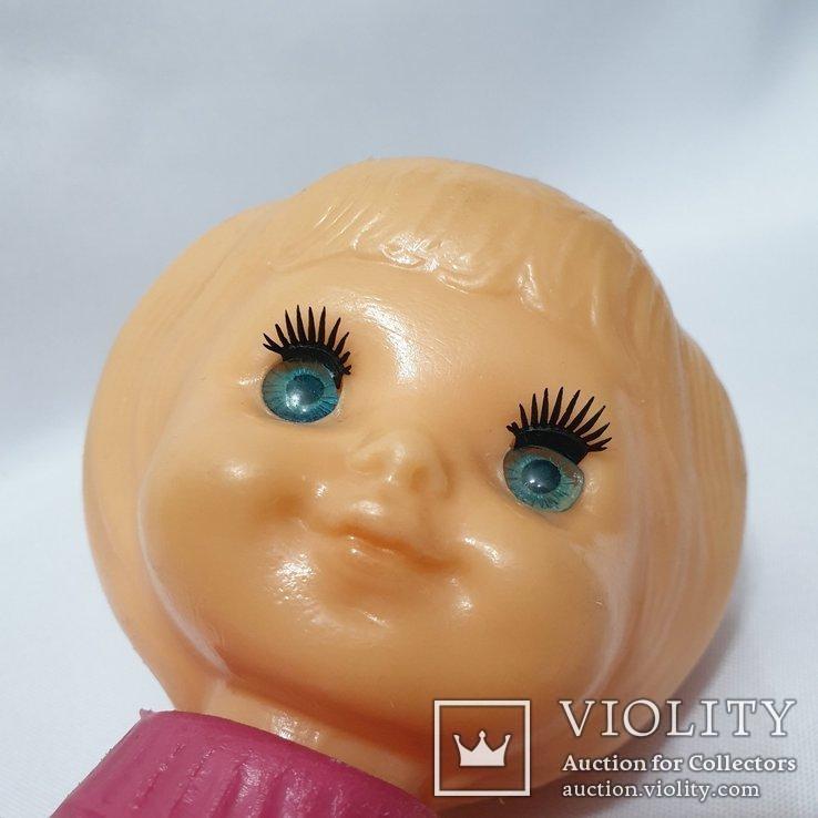 Кукла Ссср на резинках девочка в костюме Виктория фабрика Победа Киев 30 см цена клеймо, фото №3