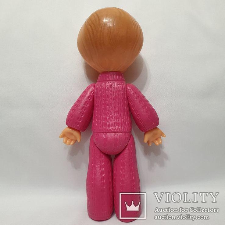 Кукла Ссср на резинках девочка в костюме Виктория фабрика Победа Киев 30 см цена клеймо, фото №4