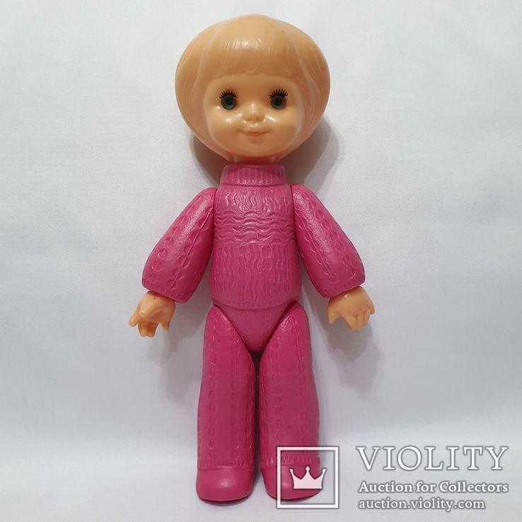 Кукла Ссср на резинках девочка в костюме Виктория фабрика Победа Киев 30 см цена клеймо, фото №7