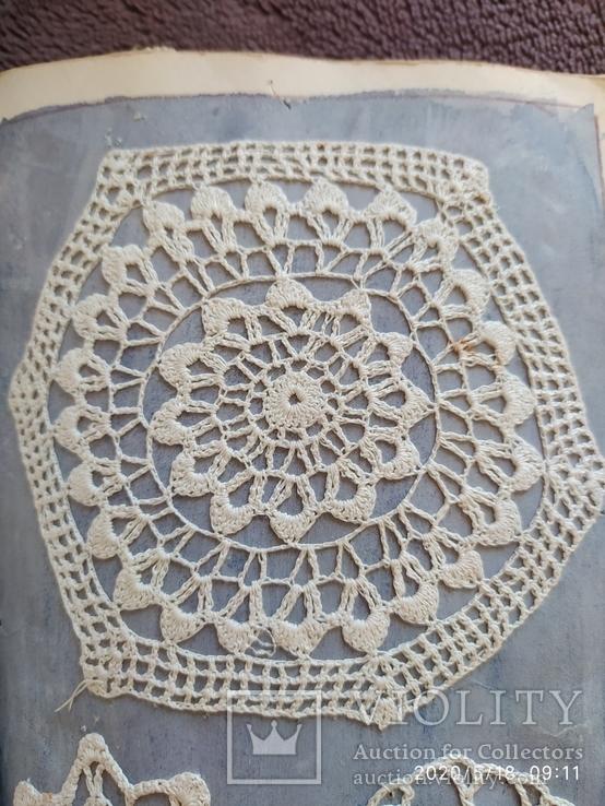 Образцы вышивок крючком., фото №2