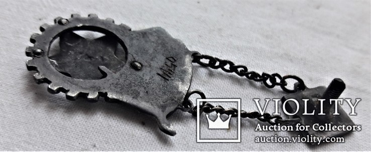 Знак Готов к труду и оброне ГТО ЦИК СССР ВСФК, 2 степень, копия, №0544, 1931 год, фото №8