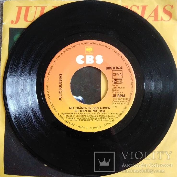 Пластинка виниловая Julio Iglesias, фото №4