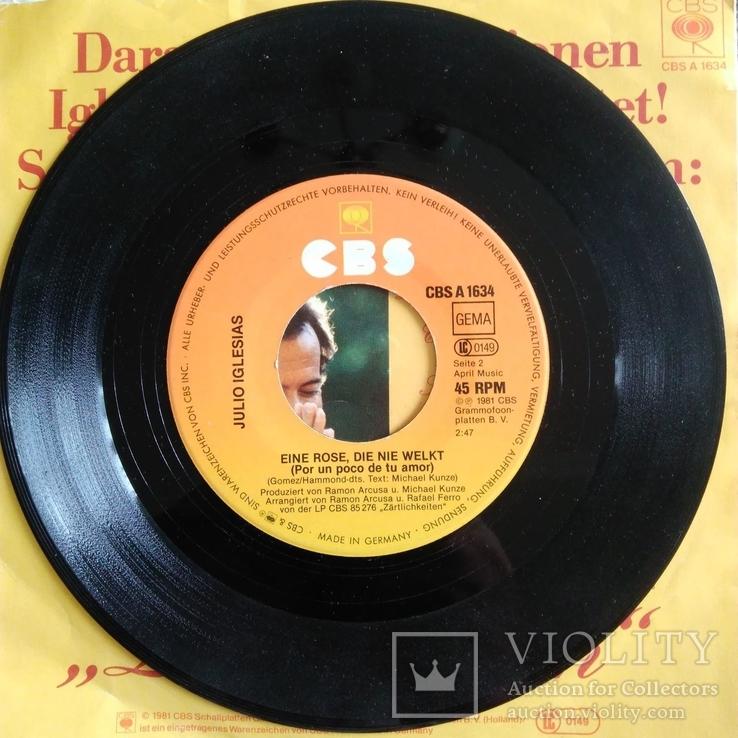 Пластинка виниловая Julio Iglesias, фото №6