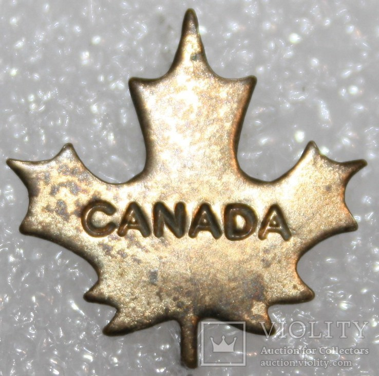 Значок Канада тяжелый, фото №2