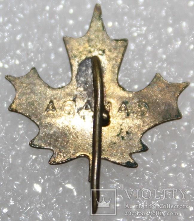 Значок Канада тяжелый, фото №3