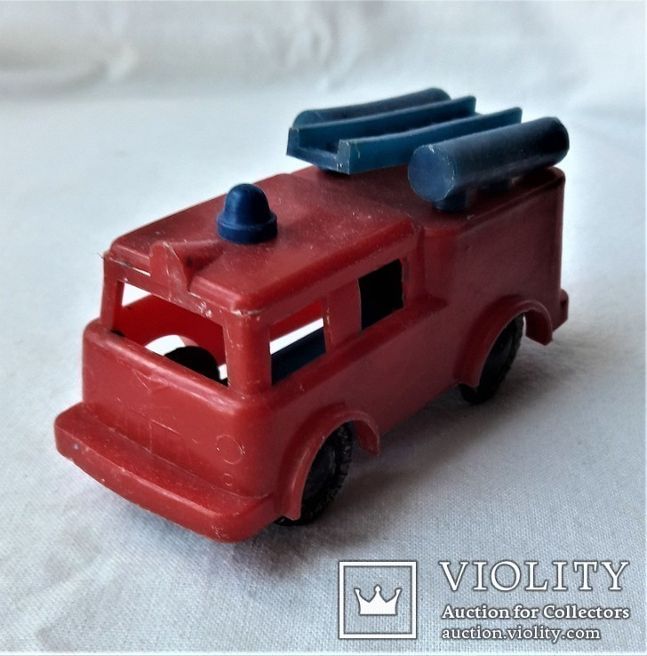 Машинка пожарная СССР клеймо (23), фото №2