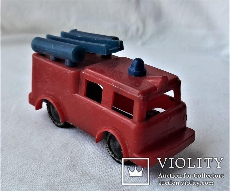 Машинка пожарная СССР клеймо (23), фото №3