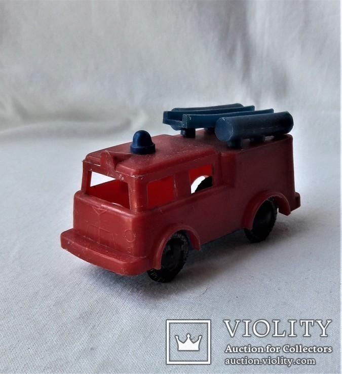 Машинка пожарная СССР клеймо (23), фото №4