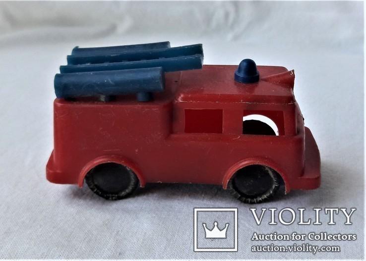 Машинка пожарная СССР клеймо (23), фото №7