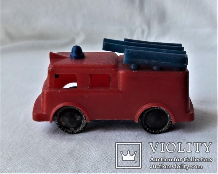 Машинка пожарная СССР клеймо (23), фото №9