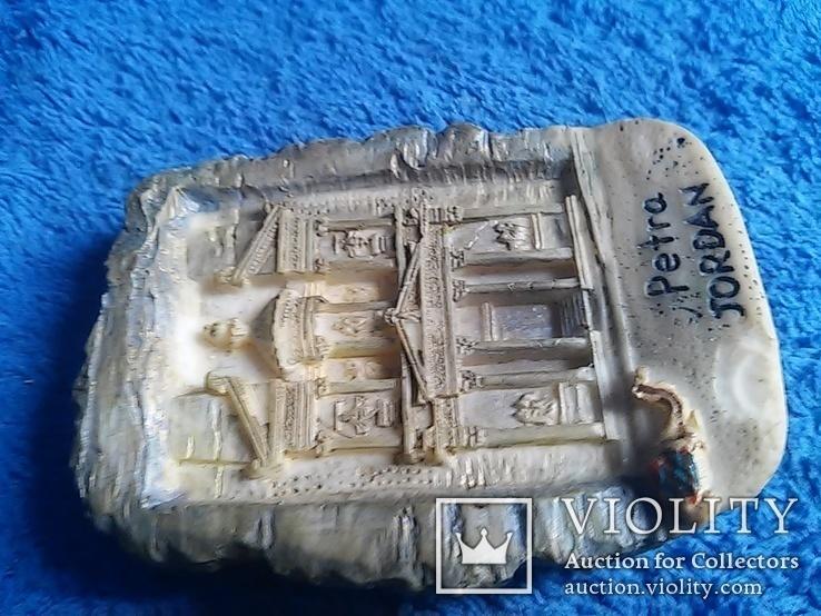 Магнит: Petra Jordan 7Х5 см. клеймо и дата 2007 год, фото №5