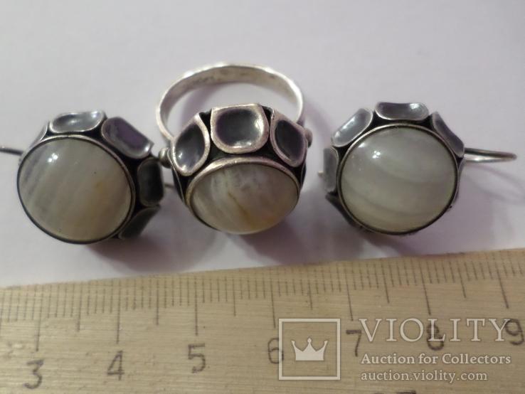 Гарнитур серебро