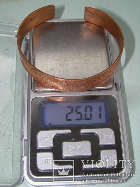 Медный браслет Драконы ( CU 999 ), фото №7