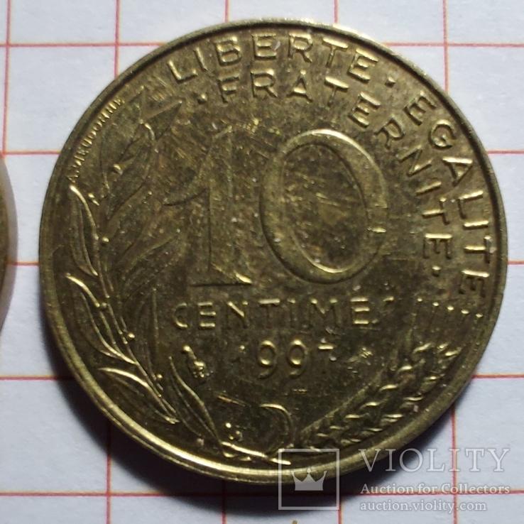 Франция. 10 сантимов. 1963, 1983, 1997, фото №5