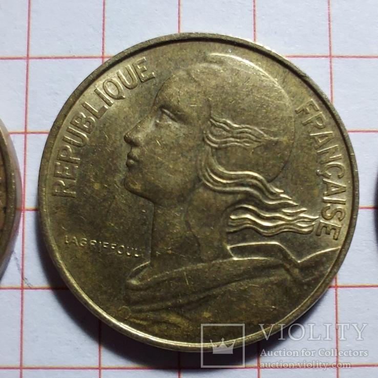 Франция. 10 сантимов. 1963, 1983, 1997, фото №8