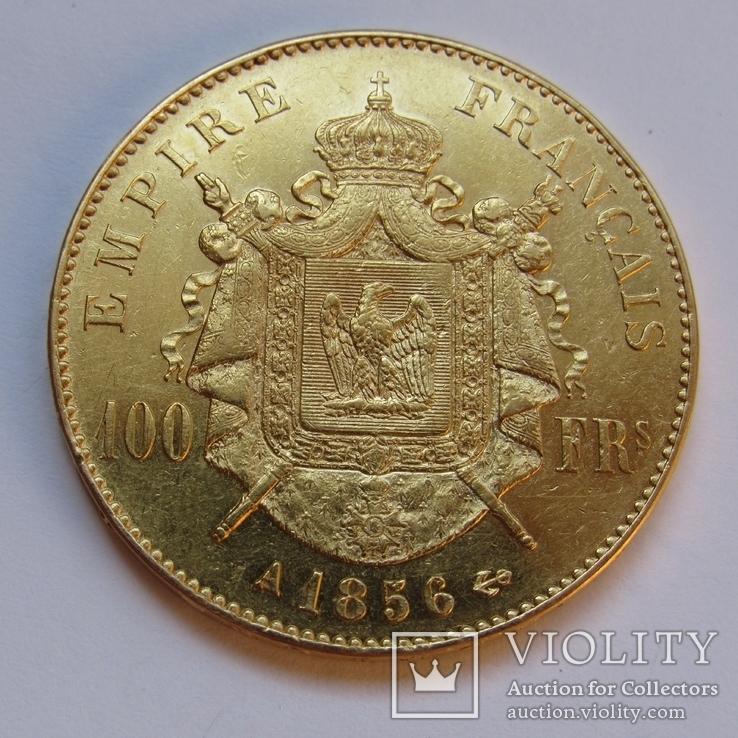 100 франков 1856 г. Франция