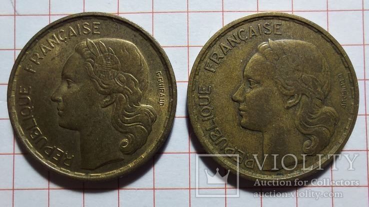 Франция. 20 франков 1952, 1953, фото №3