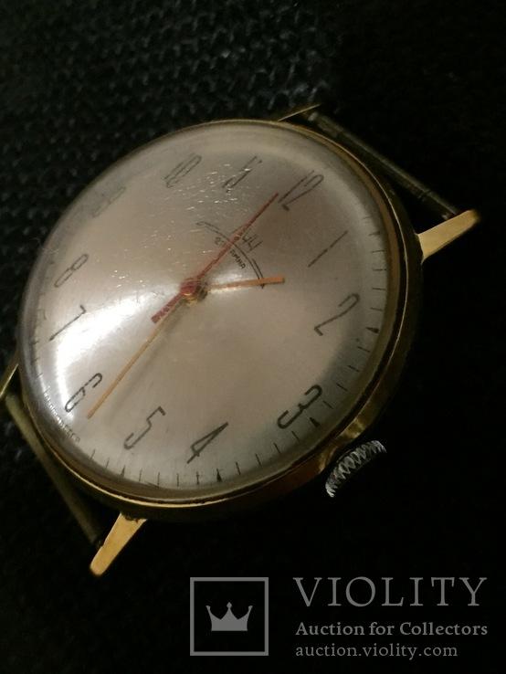 Часы Луч Ау20 тонкий, фото №4