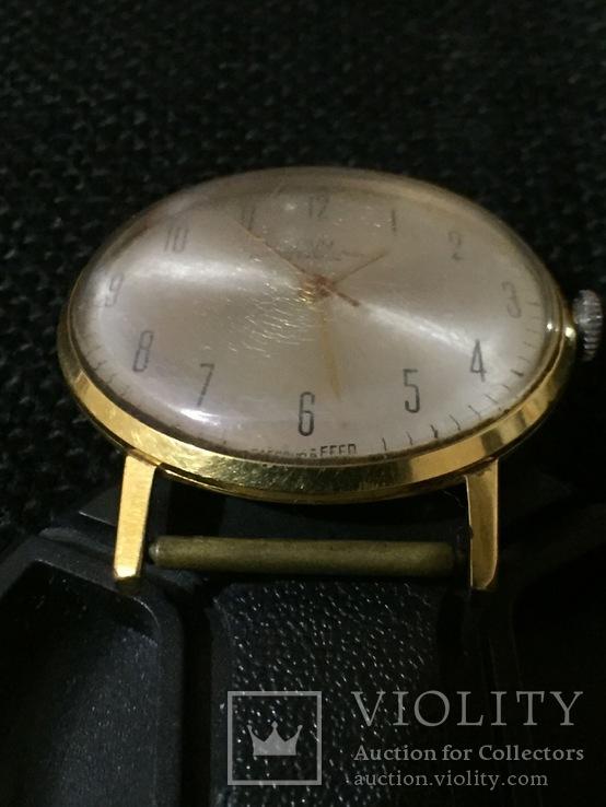 Часы Луч Ау20 тонкий, фото №8