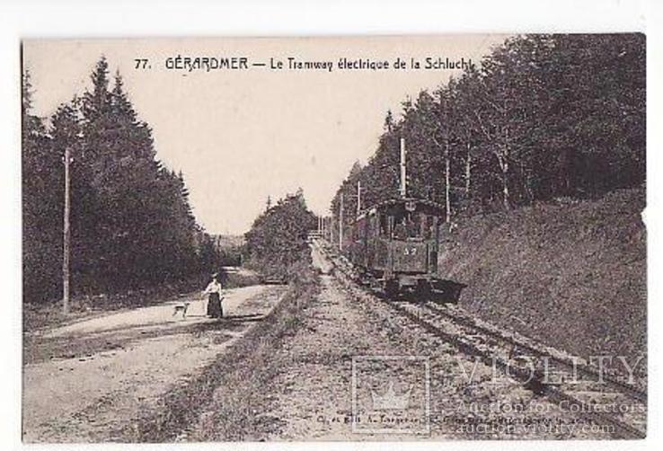 Жерарме Франция Электротрамвай