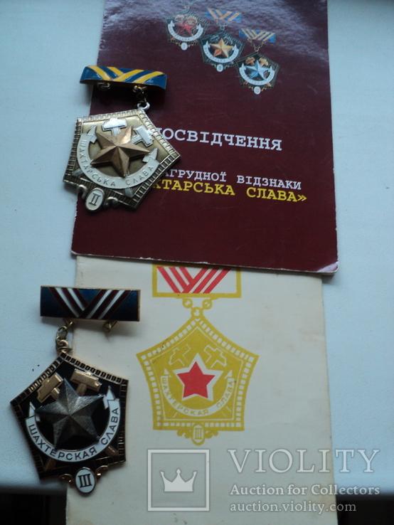 Шахтерская слава 2 и 3 ст. на доках, фото №2