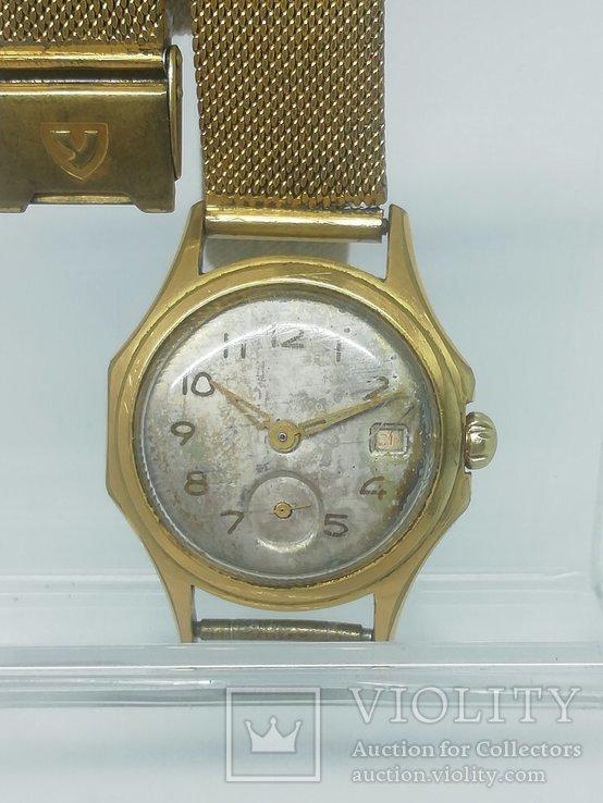 Часы СССР ЧАЙКА позолота