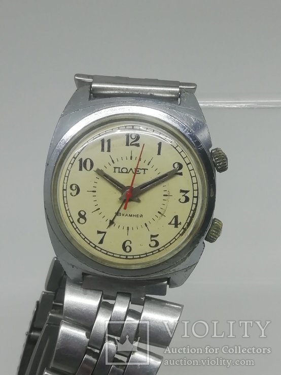 Часы СССР полёт с будильником