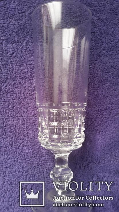 Старинный бокал стекло,хрусталь ?, фото №3